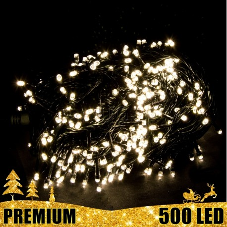 Girlianda 500 LED PREMIUM | Lauko girlianda