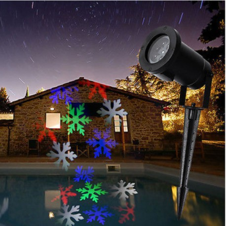 Kalėdinis lauko lazeris L12 | Lazerinis lauko projektorius