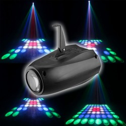 Šviesos efektas RGBW projektorius