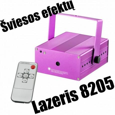Šviesos efektų lazeris STAR 8205