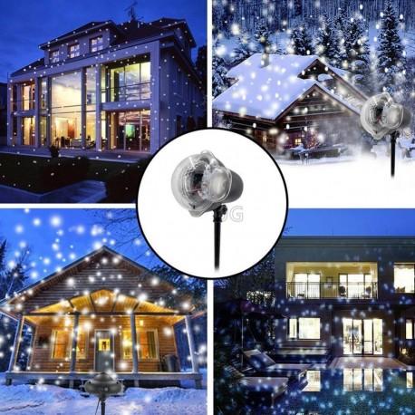 Lauko lazeris L32 | Kalėdinis lauko lazeris | Sniego efektas