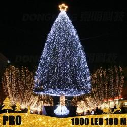 Profesionali lauko girlianda 1000 LED PRO STEADY