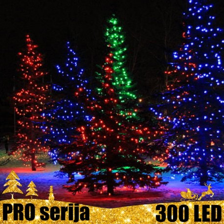 Profesionali lauko girlianda 300 LED PRO MC