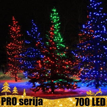 Profesionali lauko girlianda 700 LED PRO CW