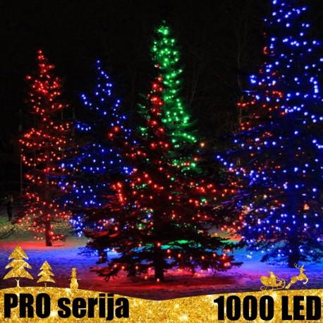 Profesionali lauko girlianda 1000 LED PRO MC