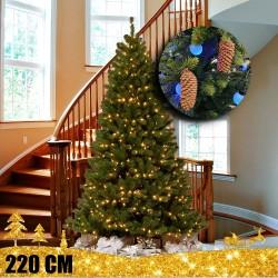 Kalėdinė eglutė LP22 220 cm | Dirbtinė eglutė