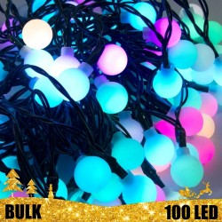 Girlianda burbuliukai 100 LED BULK