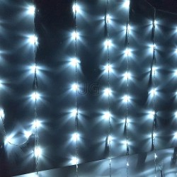 LED girlianda Užuolaida - Krioklys 500 LED STANDART 3 x 3 m.