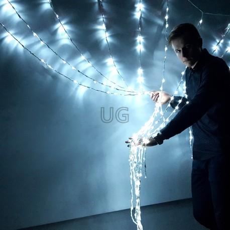 LED girlianda Užuolaida - Krioklys 288 LED 2,5x1 m