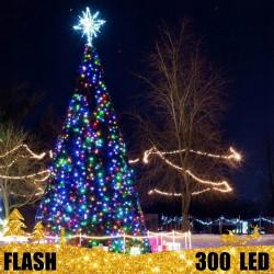 Girlianda 300 LED FLASH | LED Lauko girlianda