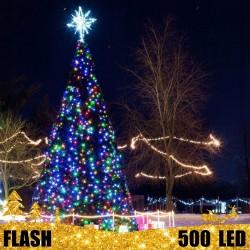 Girlianda 500 LED FLASH | LED Lauko girlianda