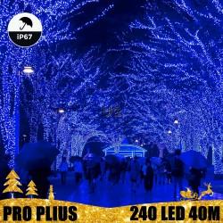 Profesionali lauko girlianda 240 LED IP67 PRO PLIUS