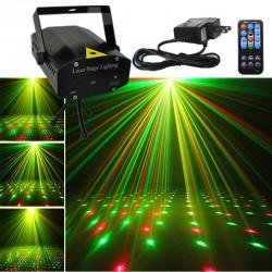 Automatinis lazerių projektorius šventėms X4 | Vakarėlių lazeris