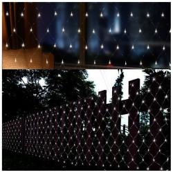 160 LED Girlianda Užuolaida - Tinklas 2,5x1,4 m