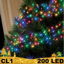 200 LED lempučių girlianda BULK CL1
