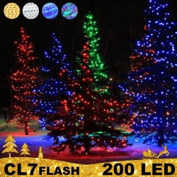 200 LED profesionali lauko girlianda PRO FLASH CL7