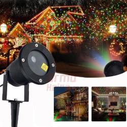 Lazerinis lauko projektorius L05 Eco | Kalėdinis lauko lazeris