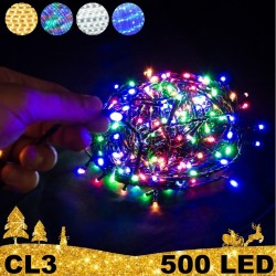 500 LED lempučių girlianda STANDART CL3