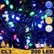 Kalėdinė LED girlianda 200 lempučių  | LED Kalėdinės lemputės