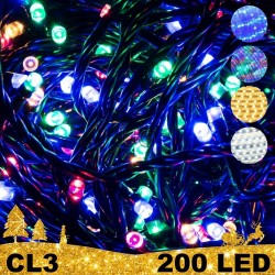 200 LED lempučių girlianda STANDART CL3