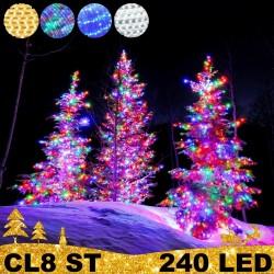 240 LED profesionali lauko girlianda PRO PLIUS ST CL8 IP67