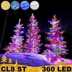 360 LED profesionali lauko girlianda PRO PLIUS ST CL8 IP67