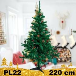 Kalėdinė eglutė PL22 220 cm | Dirbtinė eglutė