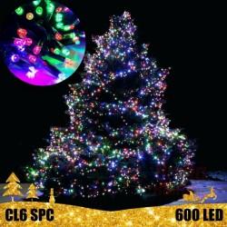 600 LED lauko girlianda 60 m BLYKSTĖ SPC CL6