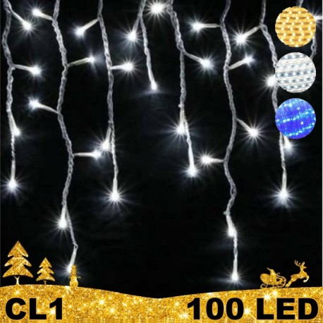 100 LED girlianda varvekliai BULK CL1