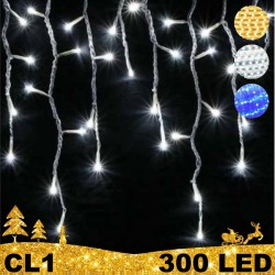 300 LED girlianda varvekliai BULK CL1