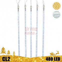 LED girlianda meteorų lietus 80 cm CL2