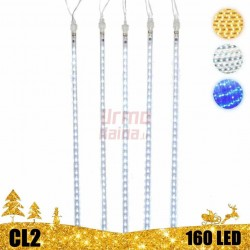 LED girlianda meteorų lietus 30 cm CL2