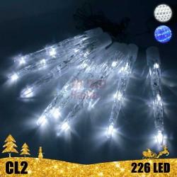 LED girlianda tirpstantys varvekliai 30 cm CL2