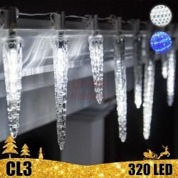 LED girlianda tirpstantys varvekliai 50 cm CL3