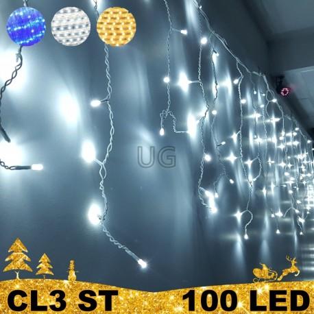 100 LED lauko girlianda varvekliai STANDART ST CL3