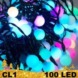 100 LED girlianda burbuliukai BULK CL1