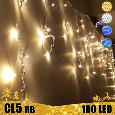 Girlianda Varvekliai 100 LED STANDART PLIUS | LED Lauko girlianda