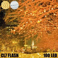 100 LED profesionali lauko girlianda E-PRO FLASH CL7