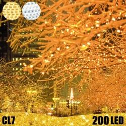 200 LED profesionali lauko girlianda E-PRO FLASH CL7