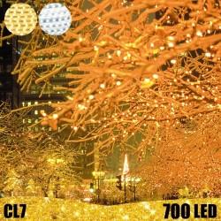 700 LED profesionali lauko girlianda E-PRO FLASH CL7