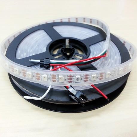 Profesionalus LED juostos rinkinys, 5050 RGB spalvotas LED