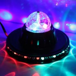 Šviesos efektas Magic BALL LIGHT | Diskotekos šviesos rutulys