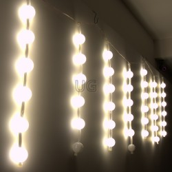 Kalėdinė LED girlianda METEORAI 48 burbulai