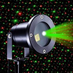 Šviesos efektų lazeris laukui | Žalias - raudonas lazeris