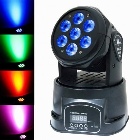 Profesionalus programuojamas LED šviestuvas