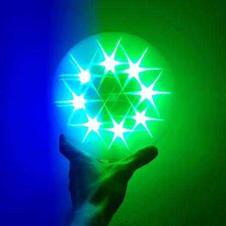 LED 3D kamuolys | Šviečiantis kamuolys Star Light S