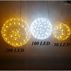 3D gėlių kamuolys 200 LED