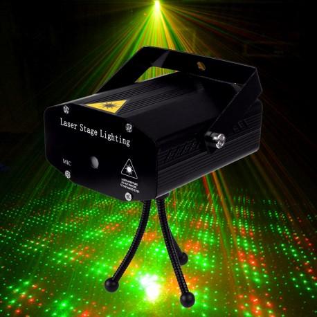 Automatinis lazerių projektorius | Žalias - raudonas lazeris