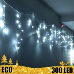 Girlianda Varvekliai 300 LED ECO be režimų | LED Lauko girlianda