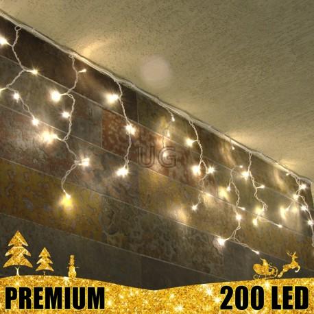 Girlianda Varvekliai 200 LED PREMIUM   LED Lauko girlianda